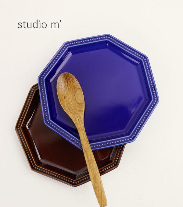 studio m' 半磁器 取り皿