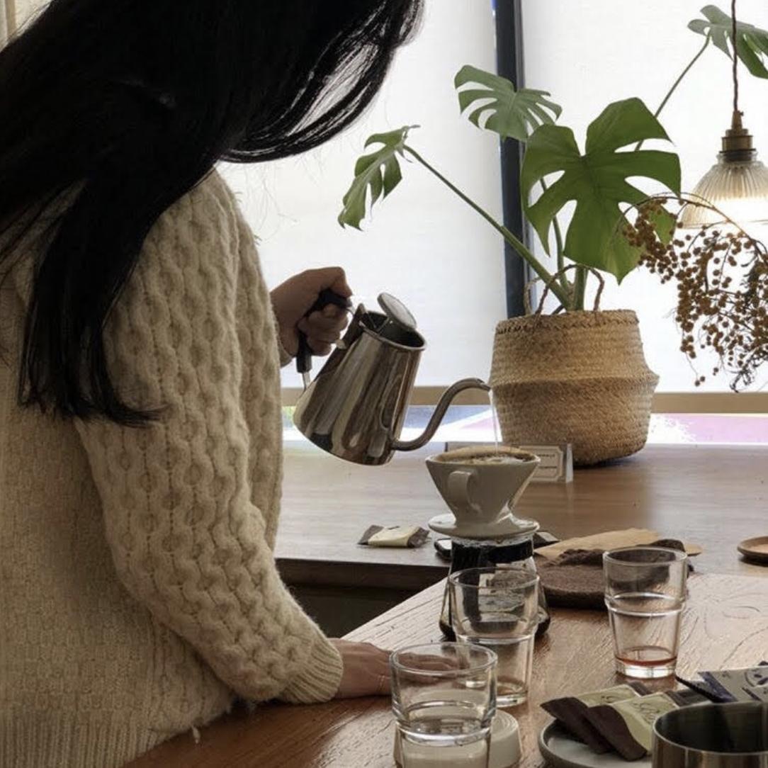 """【韓国レポート連載vol.5】韓国では""""習い事""""がブーム?コーヒードリップ1DAYクラス体験記"""