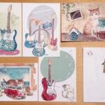 もっと気持ちが伝わるかも♡素敵なレターセットやポストカードを使って手紙を書いてみて