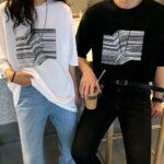 ユニセックスのTシャツで夏もお揃いコーデ♡誰から見てもラブラブカップルでいたい