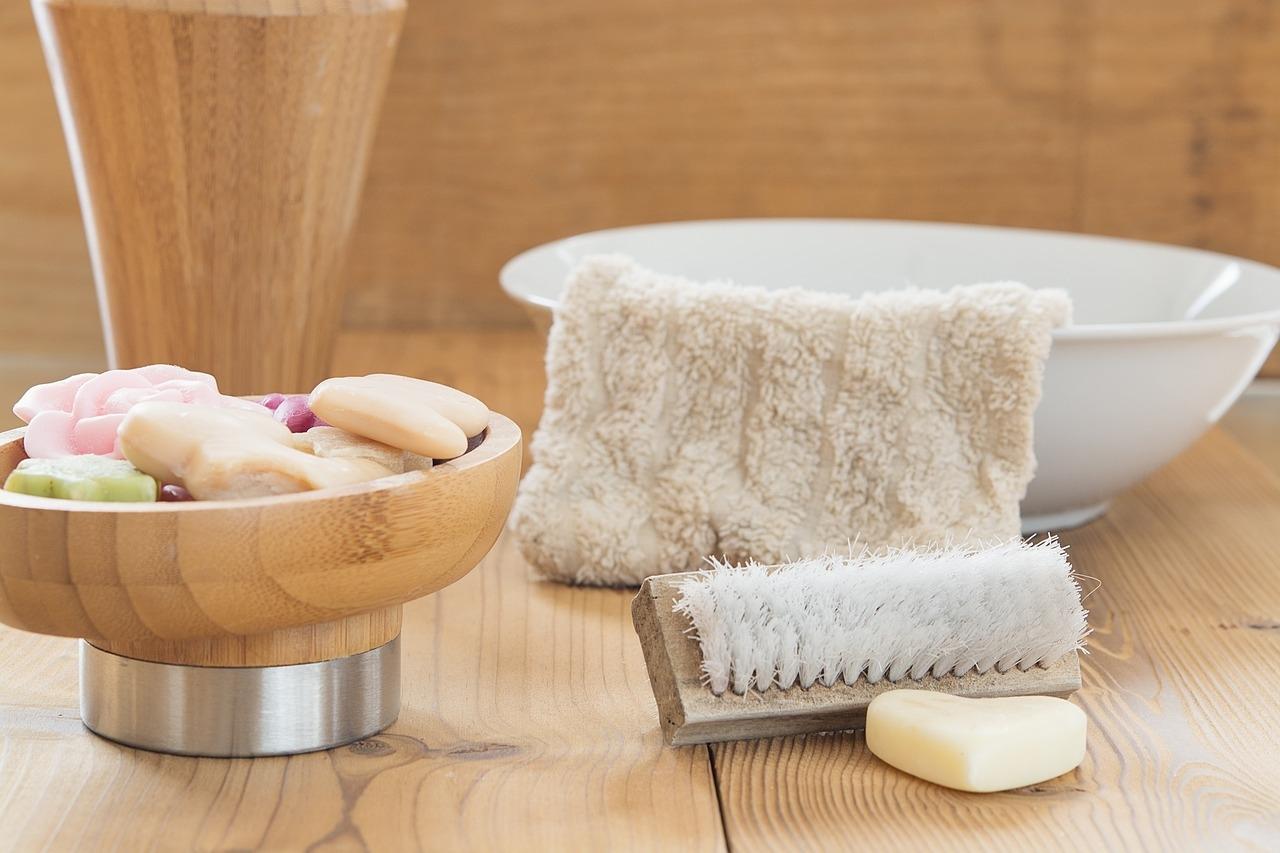 1、優しく洗って清潔さを保つ