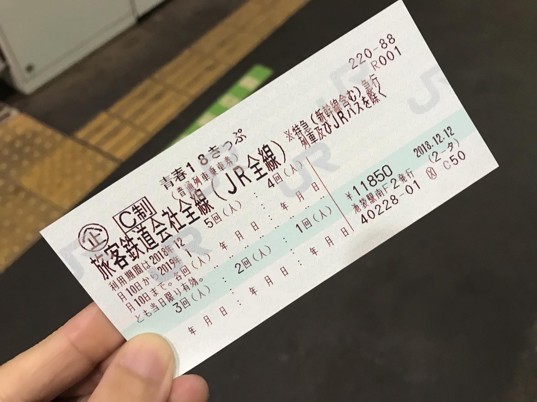 青春18きっぷの発売期間