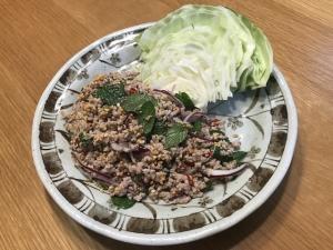 ラープ・ムー(タイ、ラオス料理)