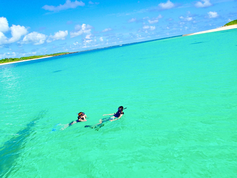 綺麗な海と自然、美味しい食べ物など