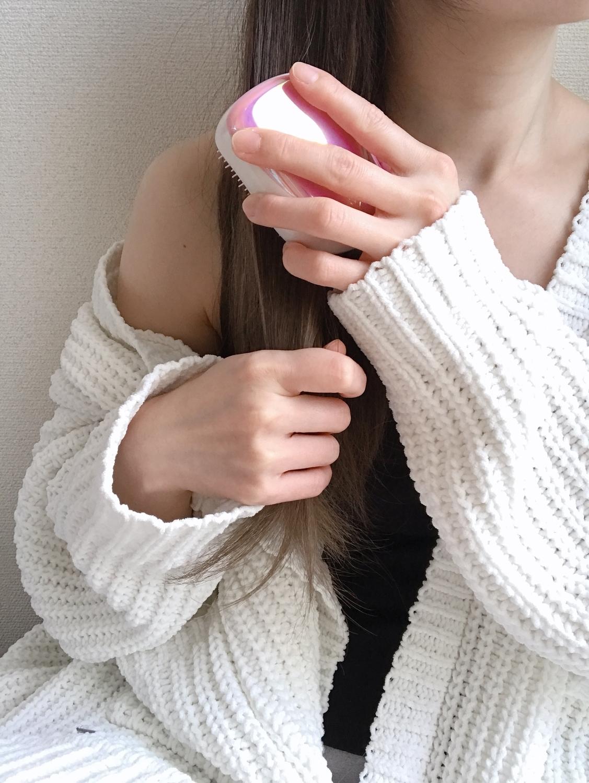 Step1 髪をよく梳かす