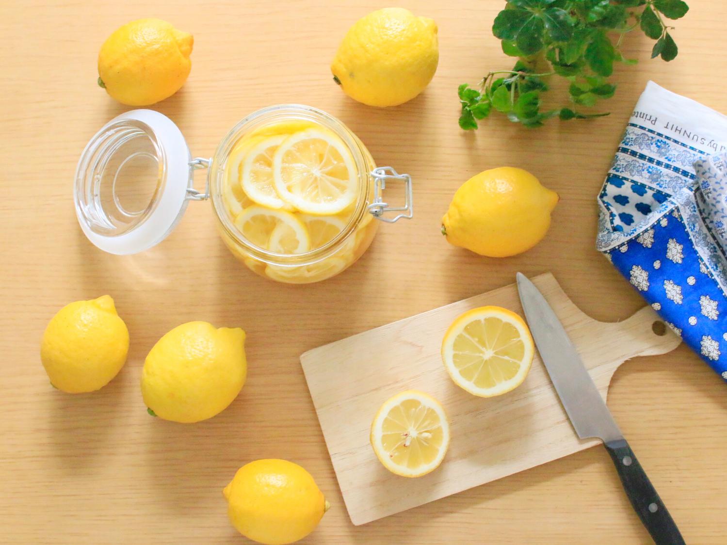 アレンジ無限大のはちみつレモン