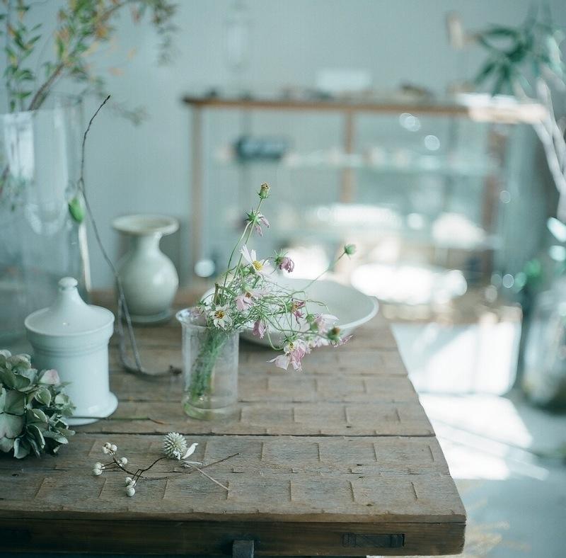 LIBERTE|お花のアレンジメントが沢山
