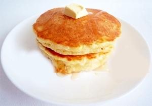 HM メレンゲでふわふわ ホットケーキ