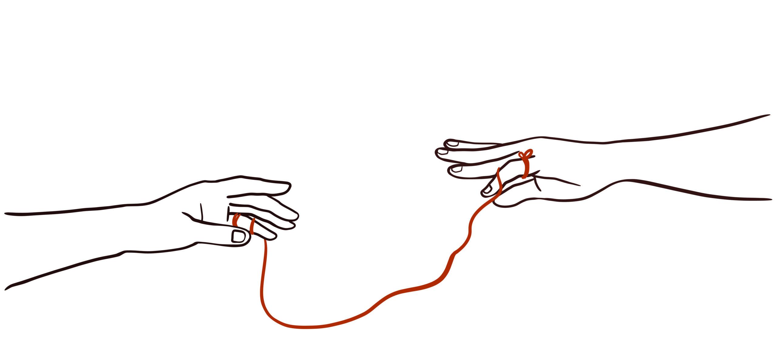 私の赤い糸はどこへやら?