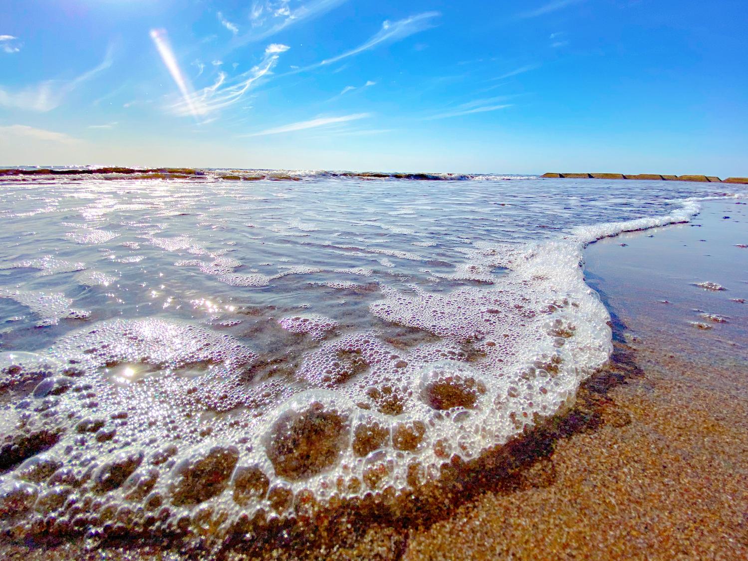 夏といえば、空と海の青!
