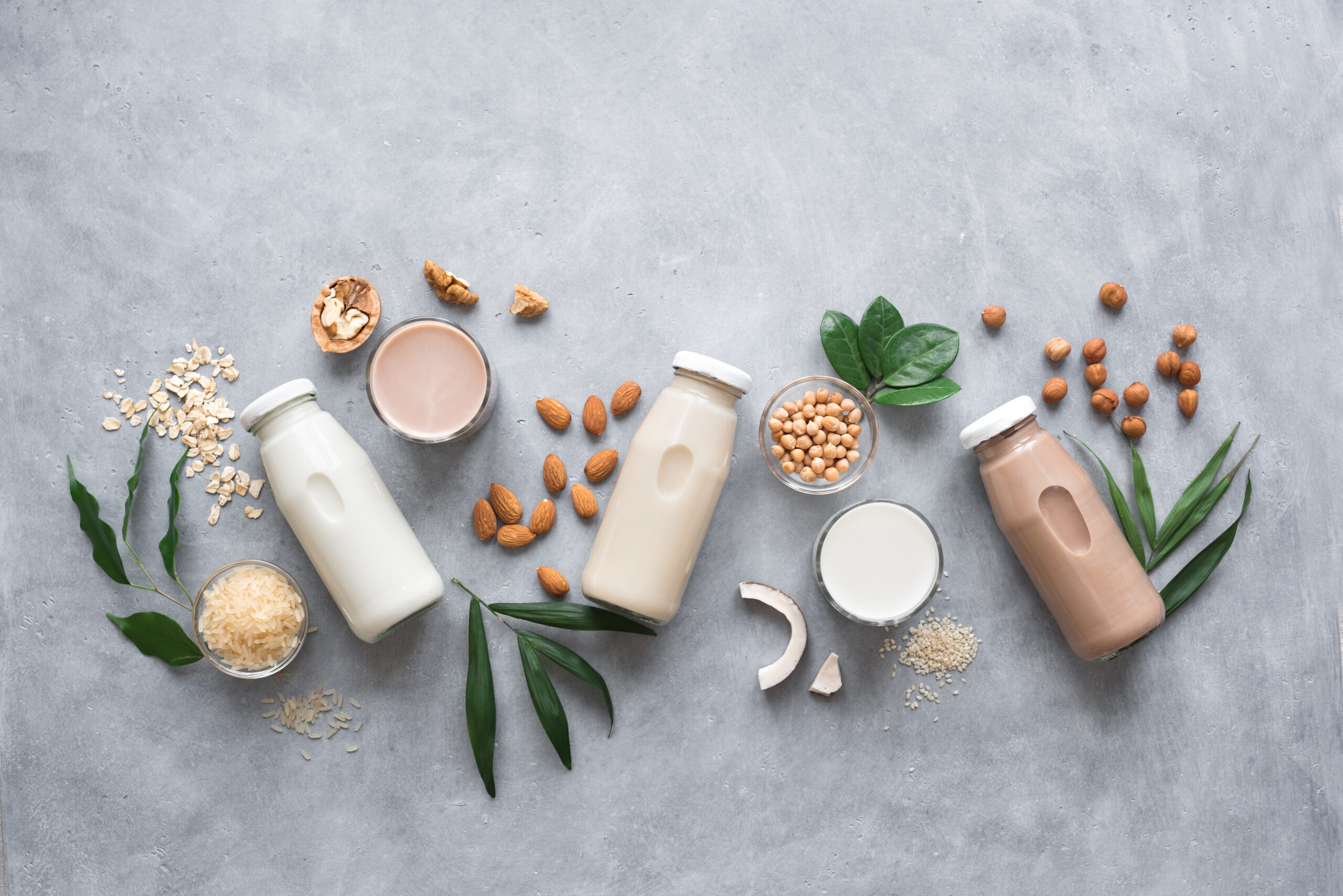ミルクの種類が増えている?