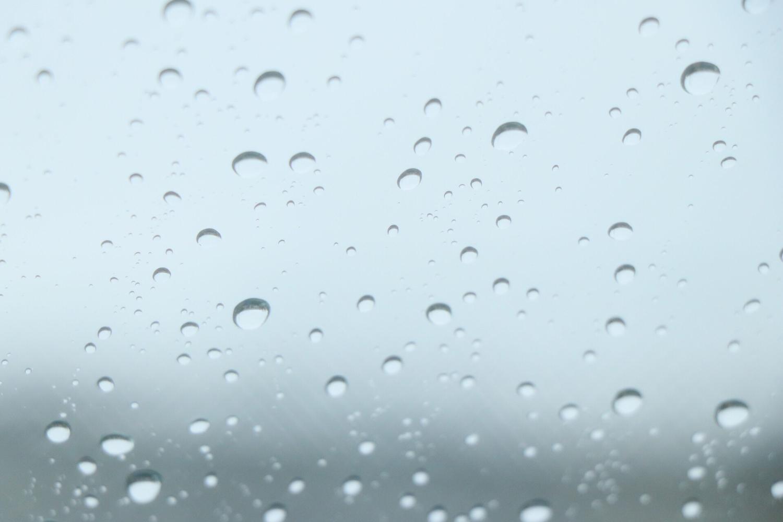 あ〜今日は雨か…
