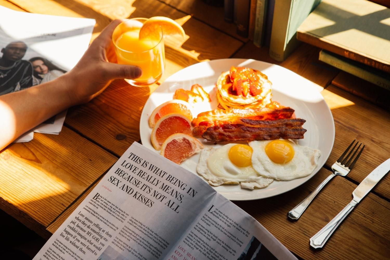 merit2:朝食をおいしく食べられる