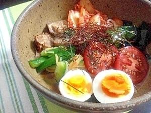 Korean☆韓国風具だくさん冷麺