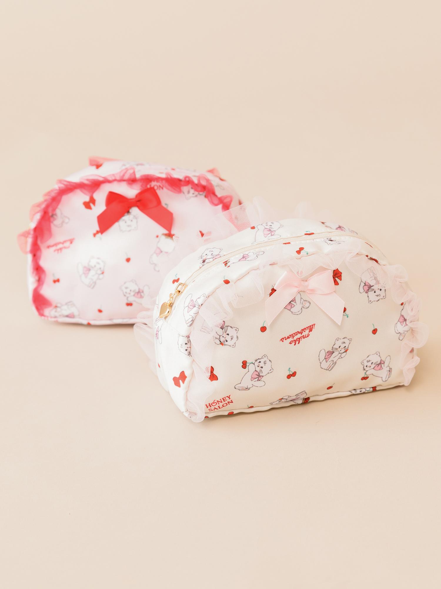 ♡sweetest cherry フリルポーチ / ¥3,190(税込)