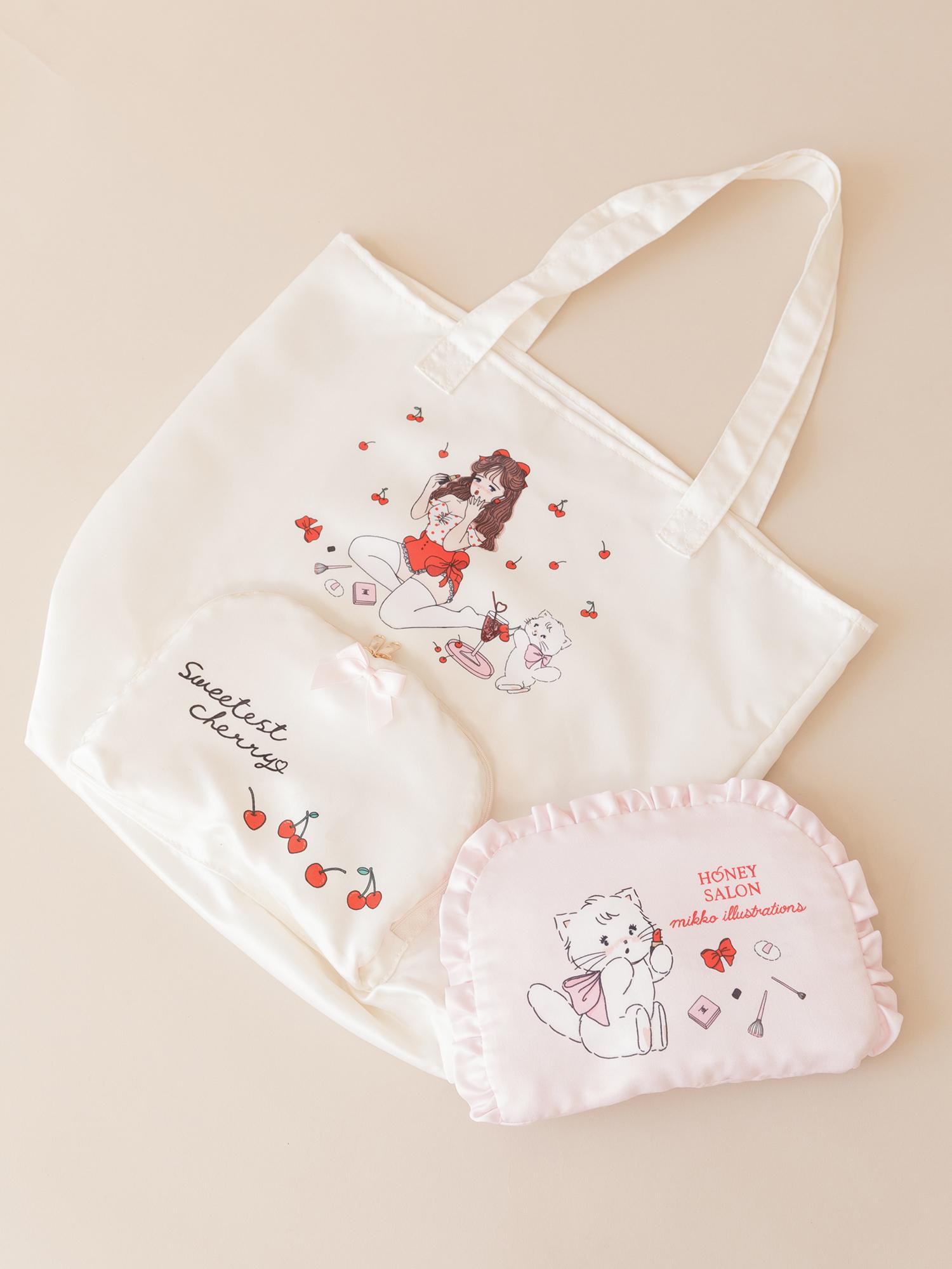 ♡sweetest cherry コンパクトトート / ¥5,280(税込)