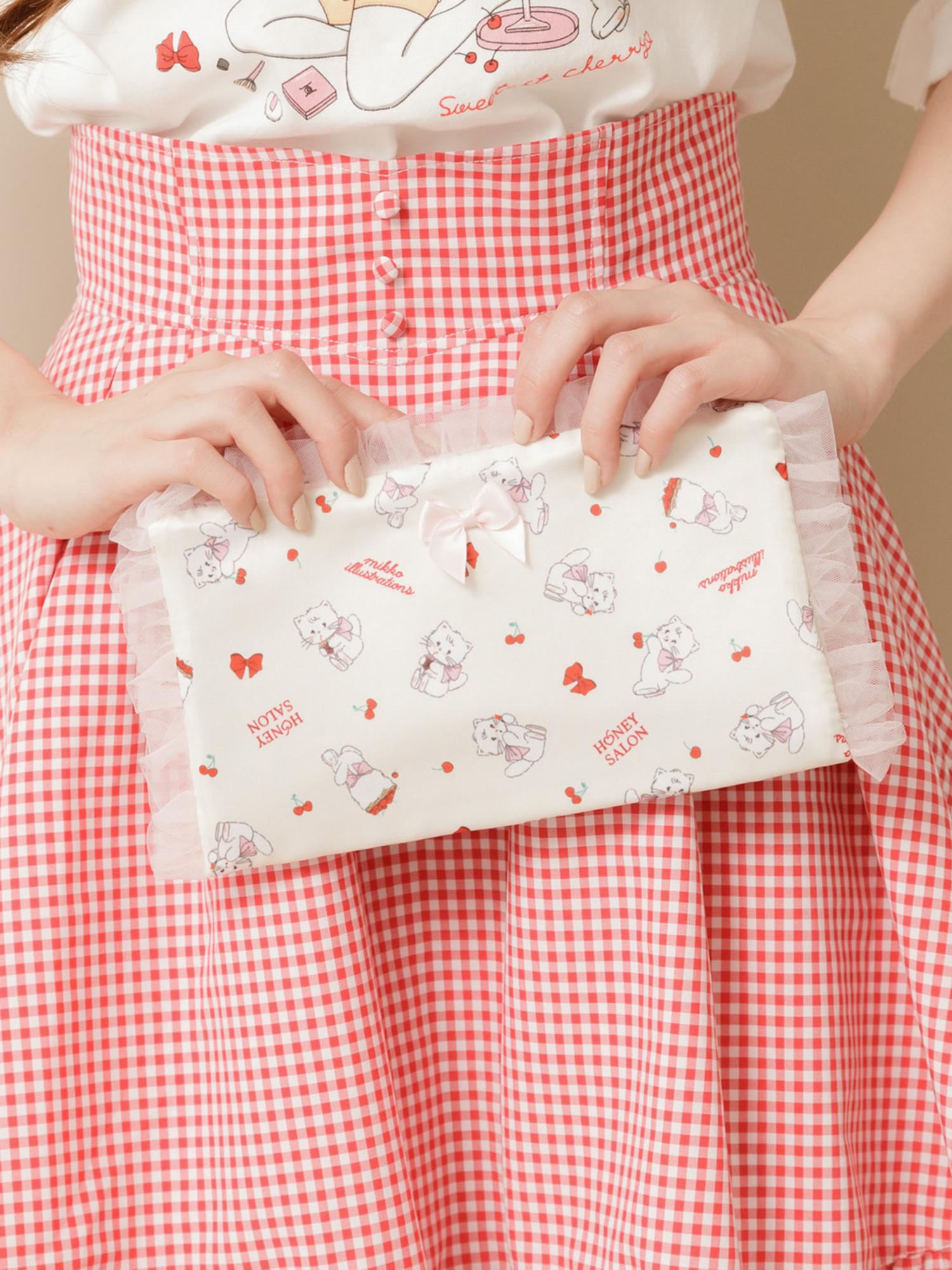 ♡sweetest cherry マルチポーチ / ¥3,300(税込)