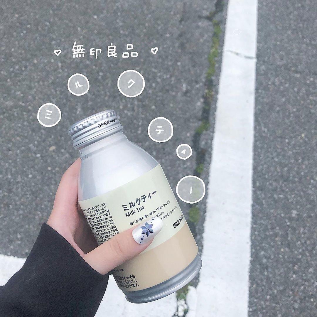 ボトルも可愛いミルクティー