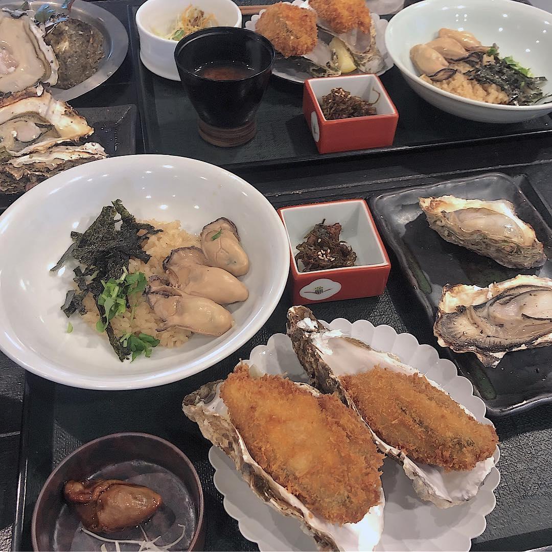 大本命!100食限定『牡蠣屋』の牡蠣定食