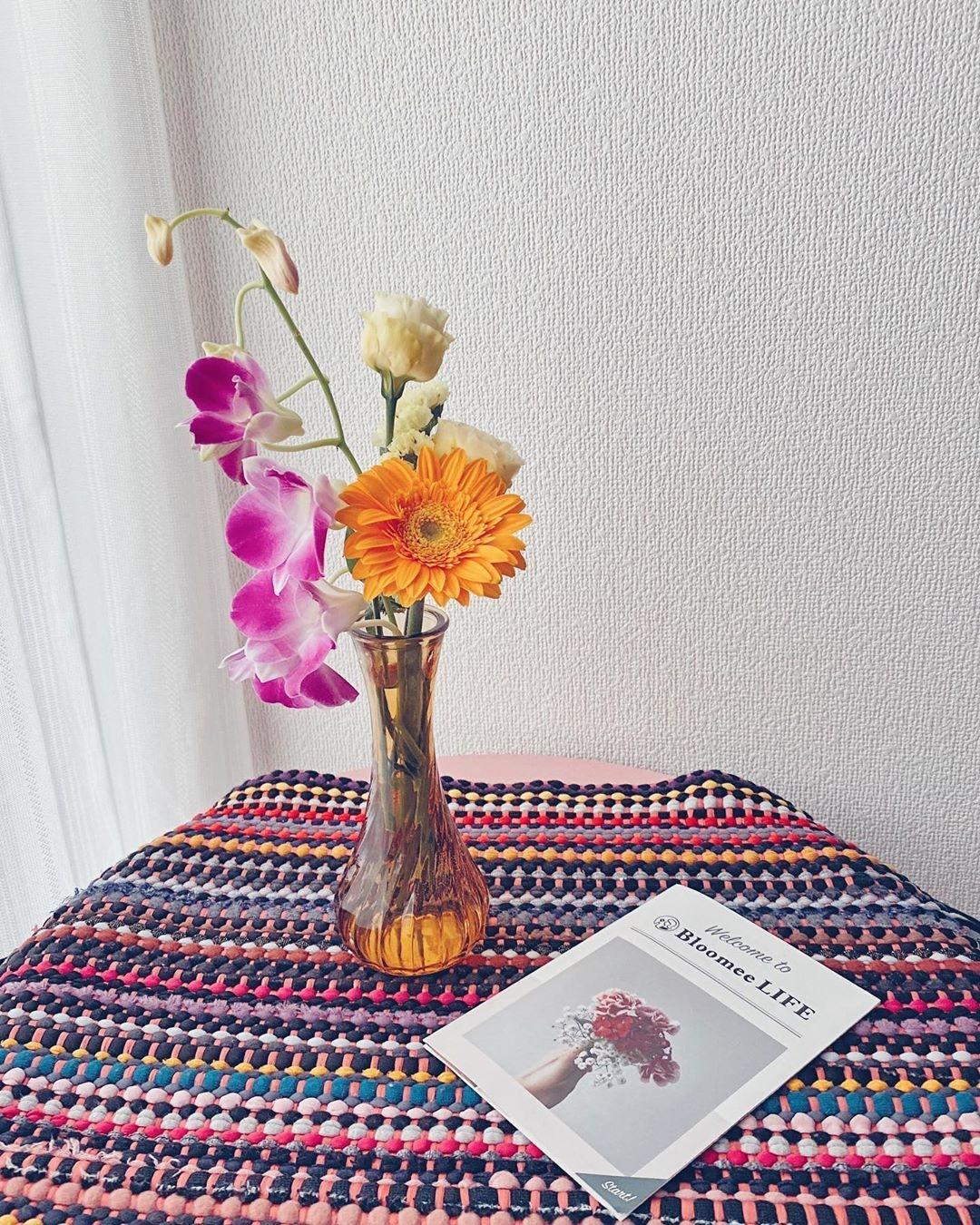 500円から始めるお花の定期便