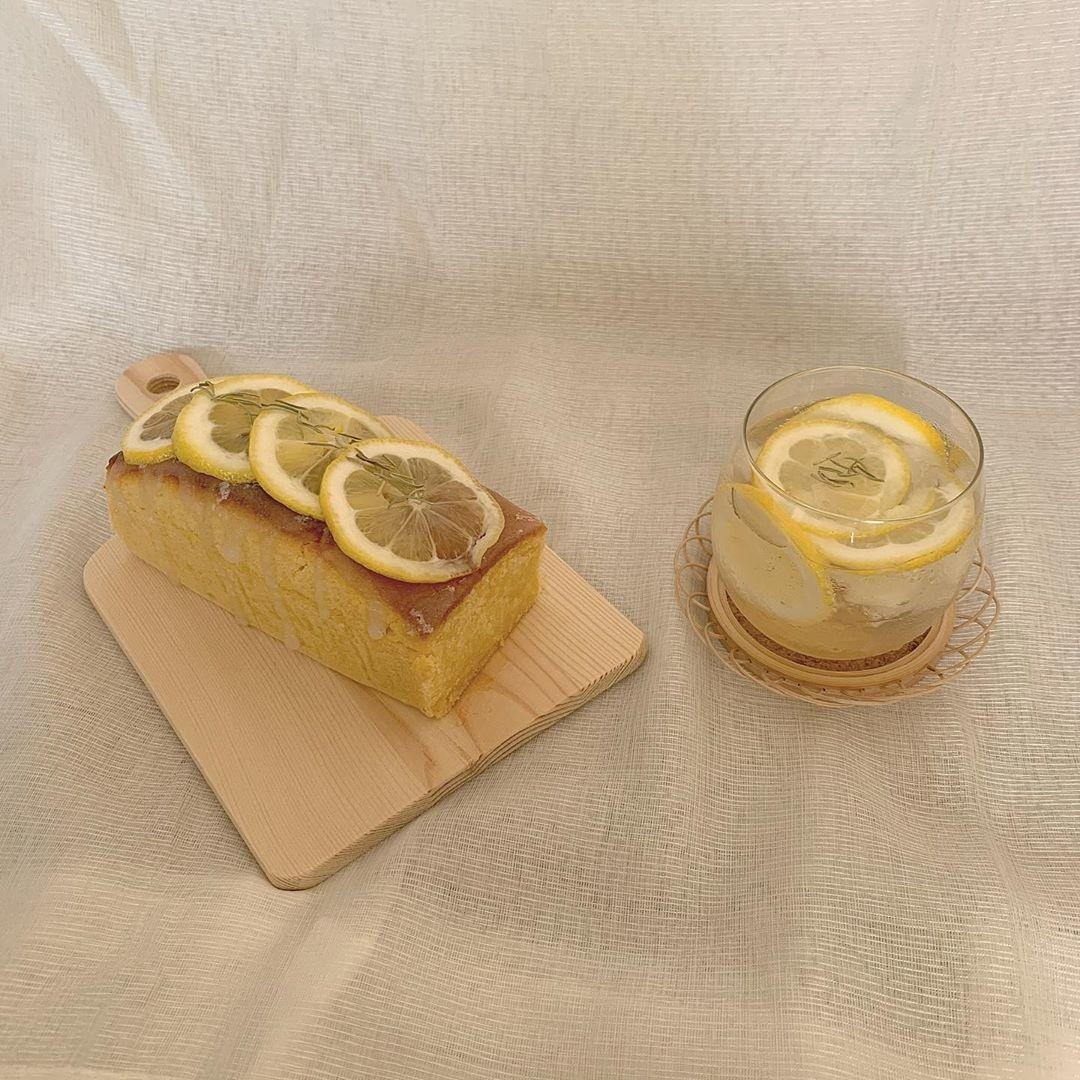 arrange3 レモンケーキ