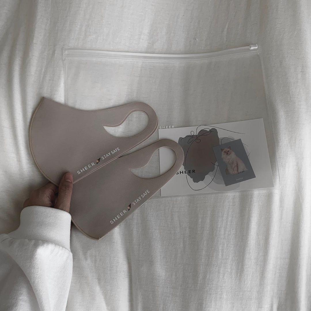 マスクを、ファッションアイテムの一部に♡
