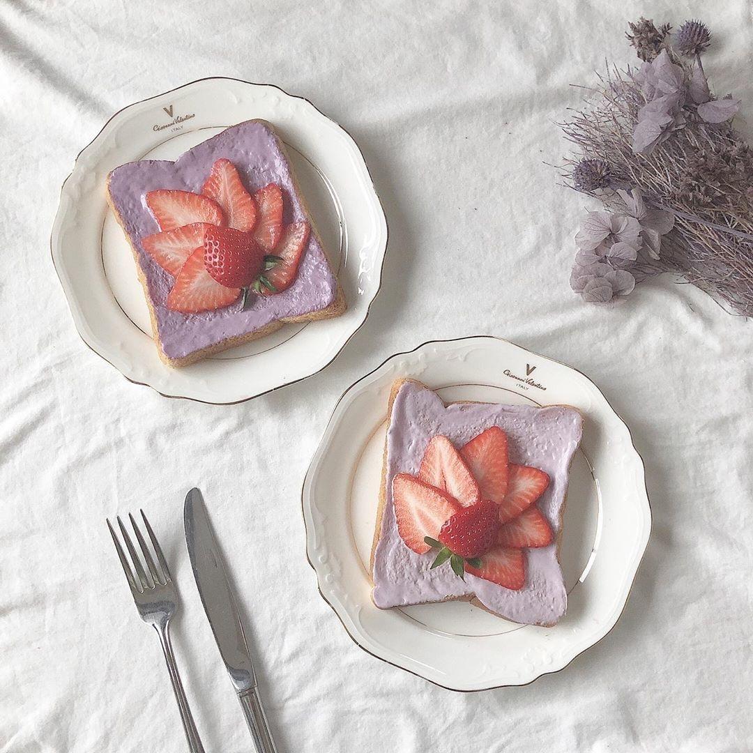 1|朝食も可愛くキメて