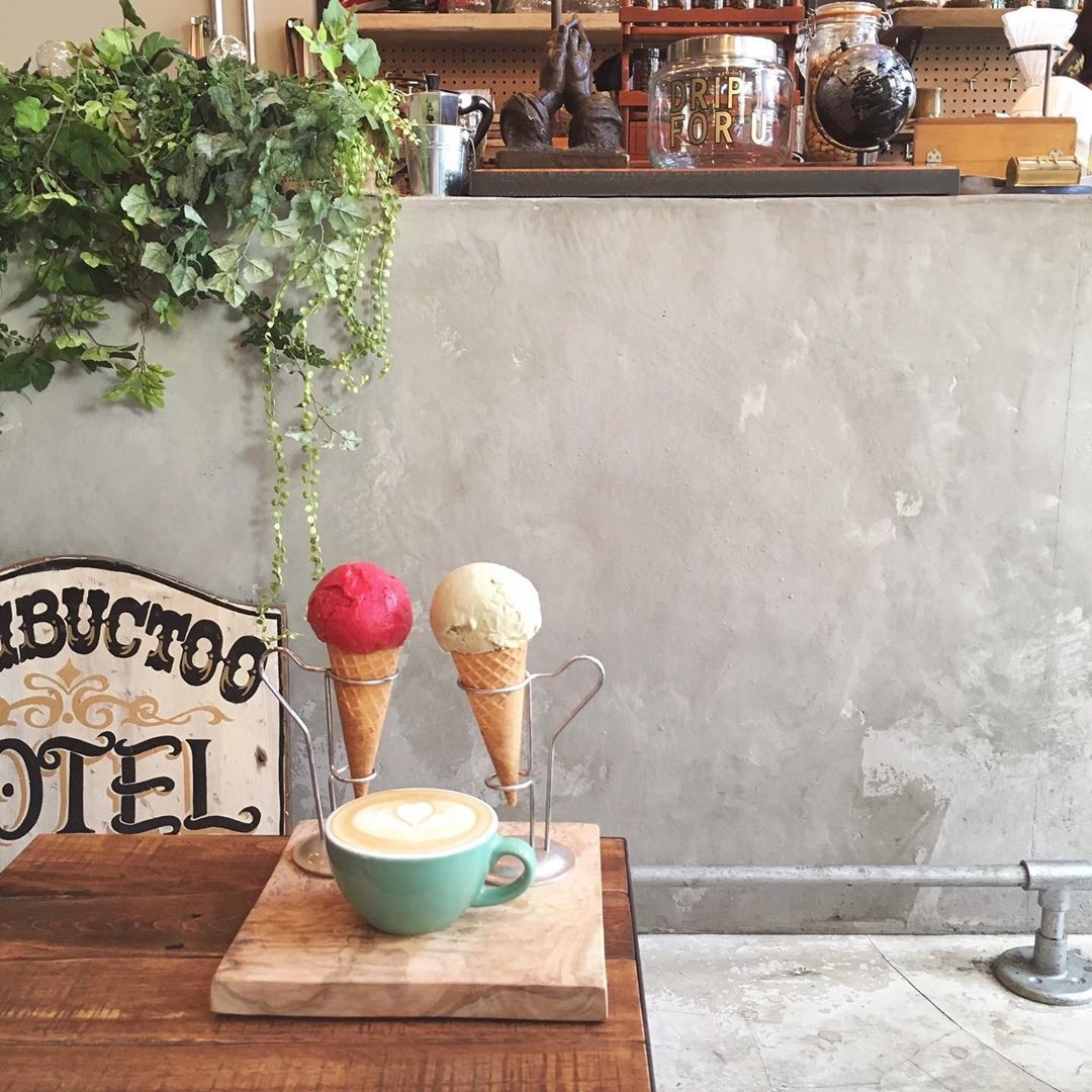 ▷Mighty steps coffee stop:日本橋