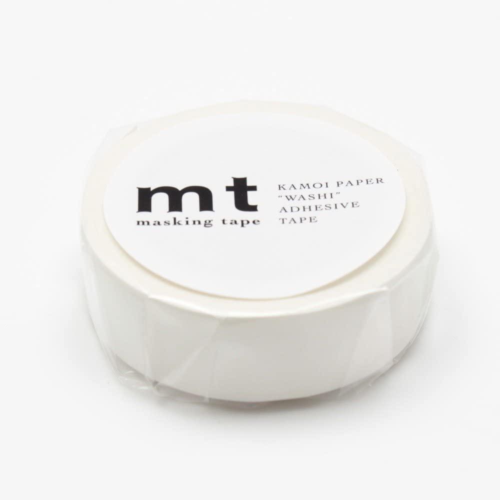 カモ井加工紙 マスキングテープ マットホワイト