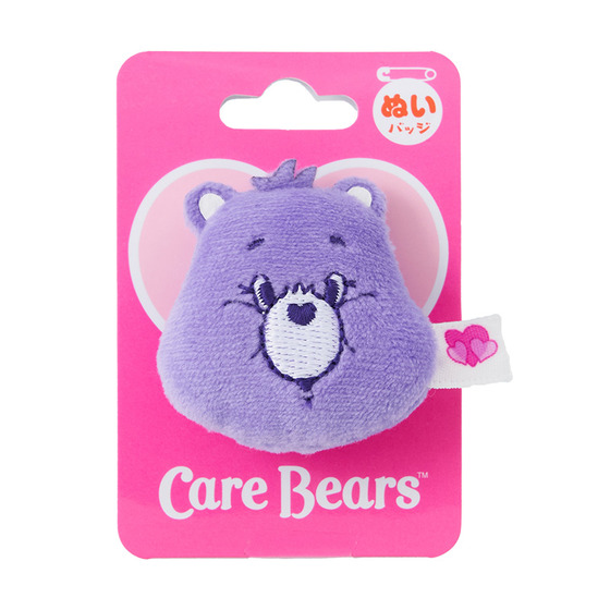 Care Bears ケアベア ぬいぐるみバッジ フェイス
