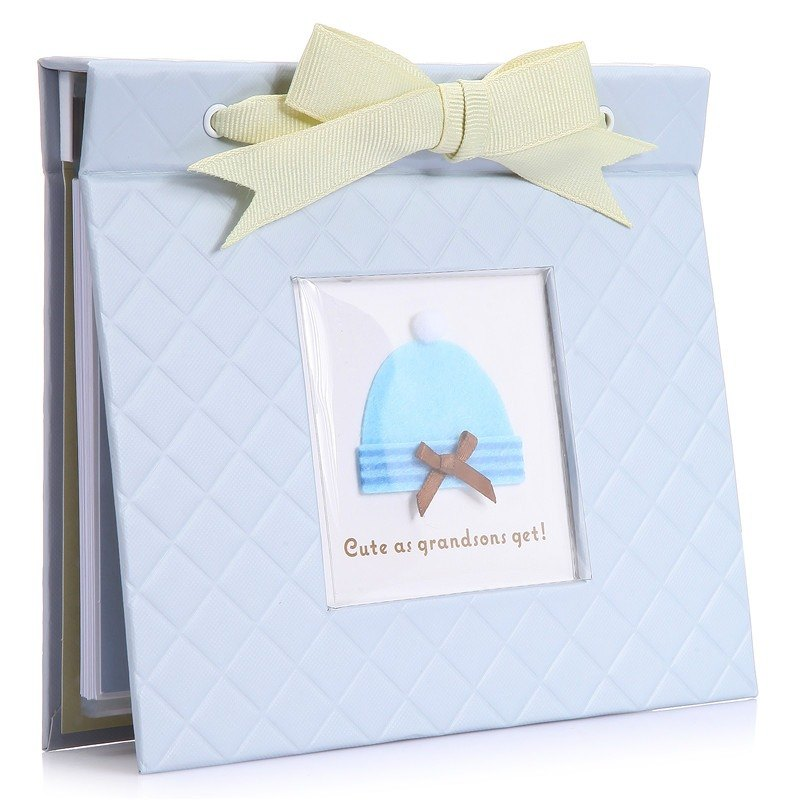 Collectible water blue small hat 48 into the phase scrapbook notebook