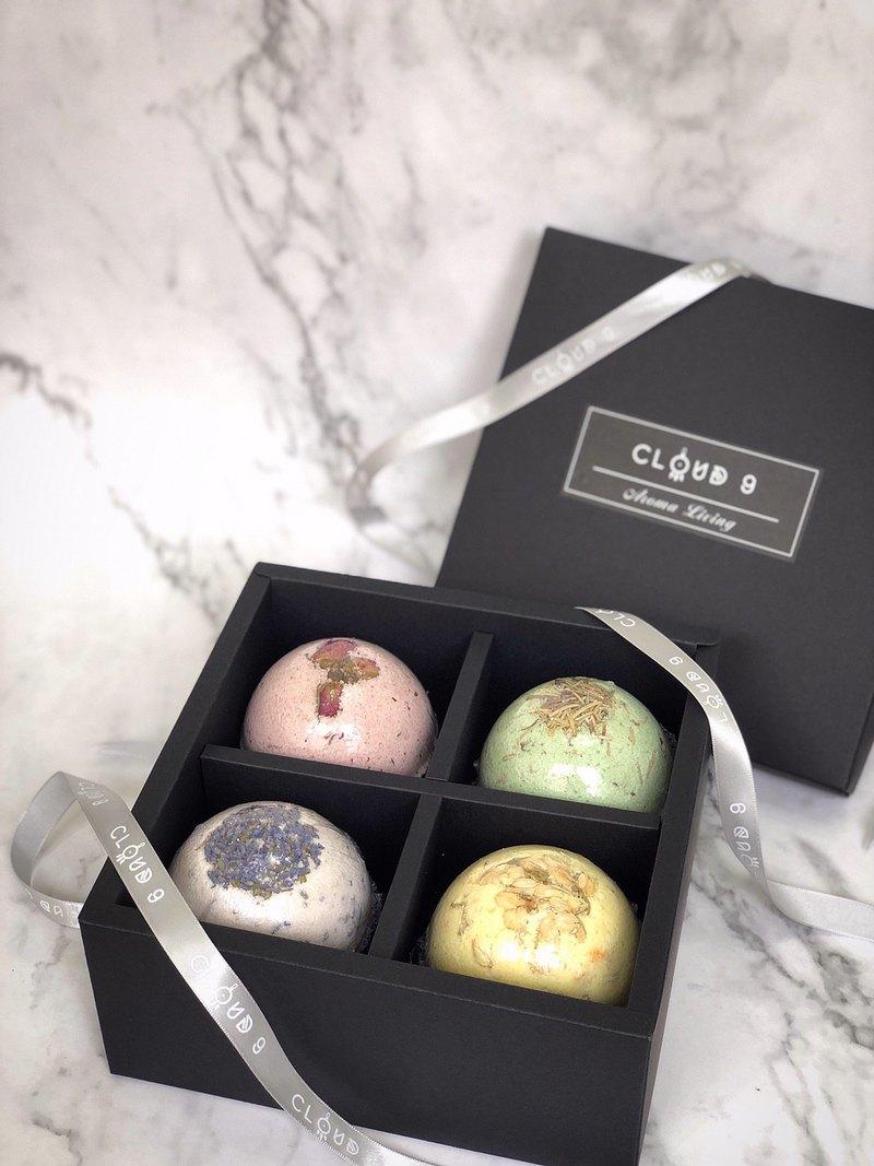 CLOUD 9 bath bomb gift box plus purchase + ribbon + bag (without bath bomb)