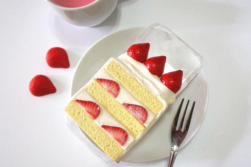 Strawberry Cream Cake Phone Case