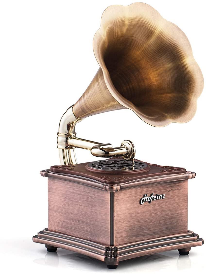 蓄音機型スピーカー