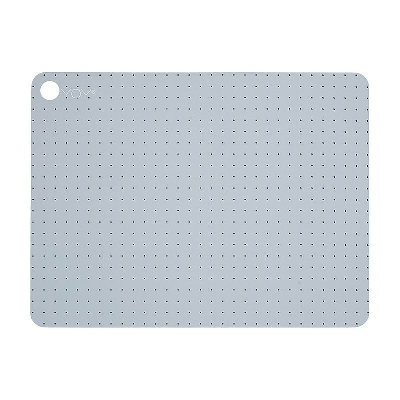 Rectangular Silicone Placemat / Dotted Pink Blue (2 in Group) ¥ 5,320
