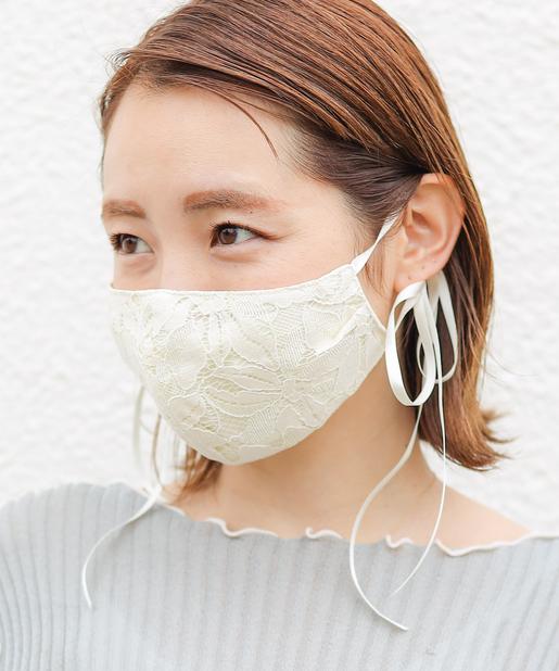 グログランレースマスク