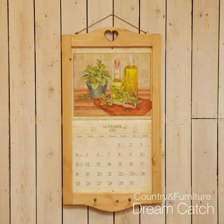 木製カレンダーフレーム