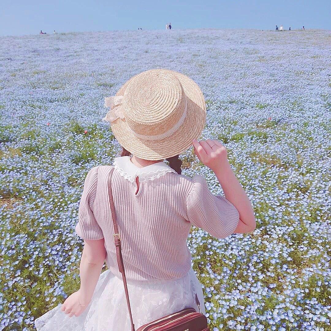 全国のおすすめ教えます!色鮮やかなお花畑で笑顔いっぱいになる写真を撮っちゃお♡