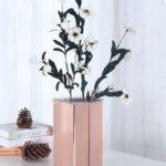 お花と一緒にインテリアに映えさせて。洗練されたお部屋に仕上げるフラワーベース