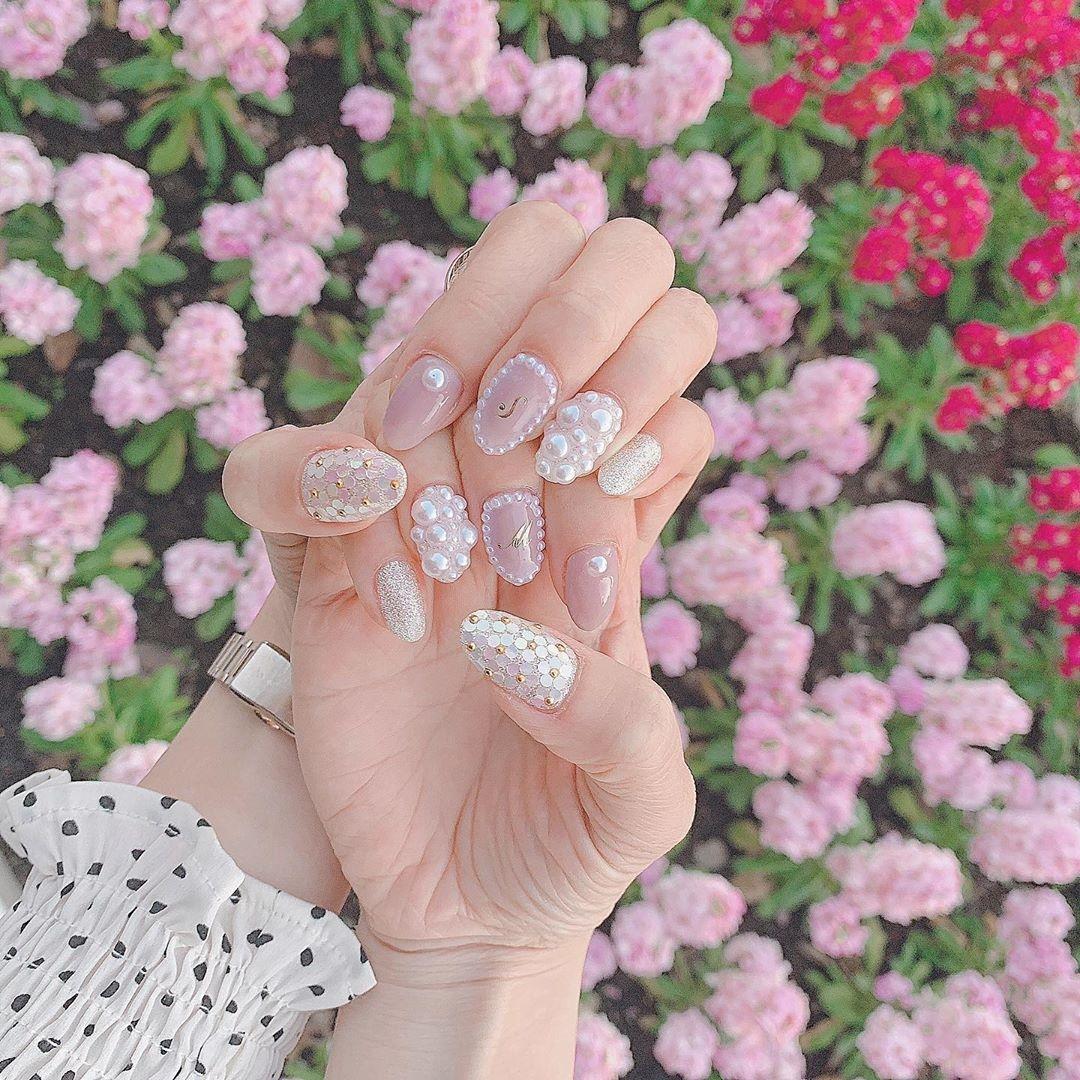 ふわふわ甘〜いピンクのときめきは永遠なの。レディのためのラブリーネイルCatalog