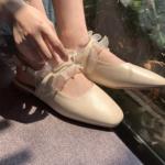 可愛いすぎるって罪深い♡お出かけ気分を高めるスクエアトゥのshoesカタログ