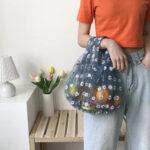 Instagramで人気のエコバは、透け感がカギ♡オーガンジーのガーリーバッグ集
