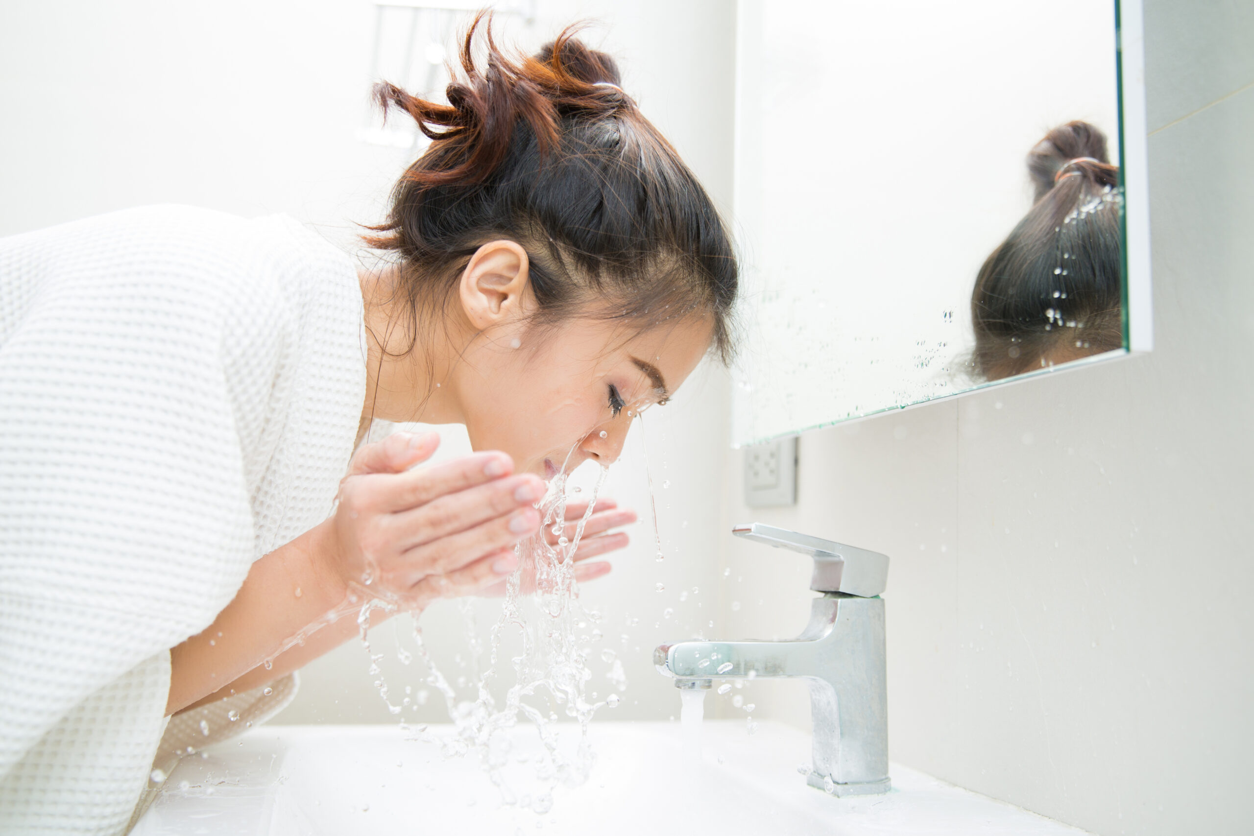 洗顔方法を見直す