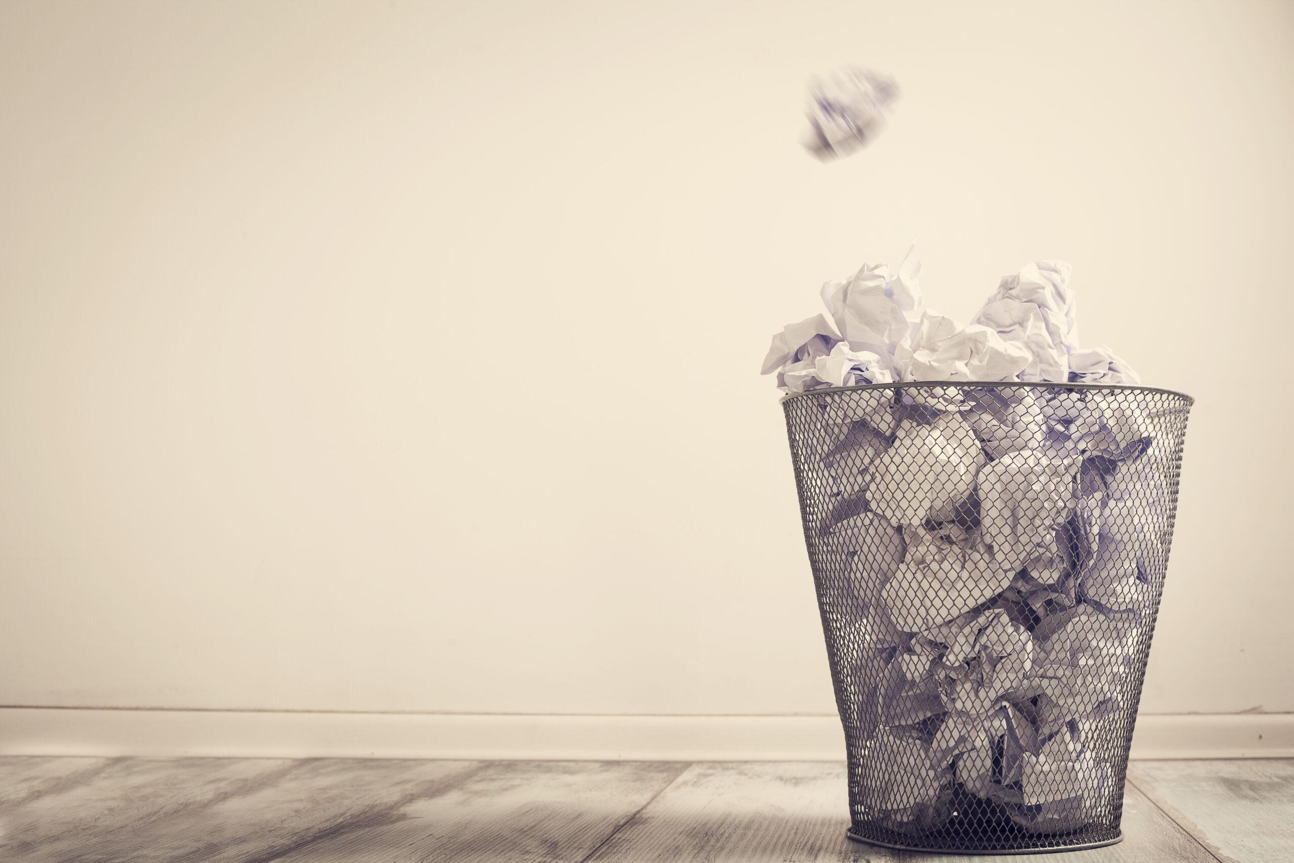 ゴミ箱は生活感が出ないように