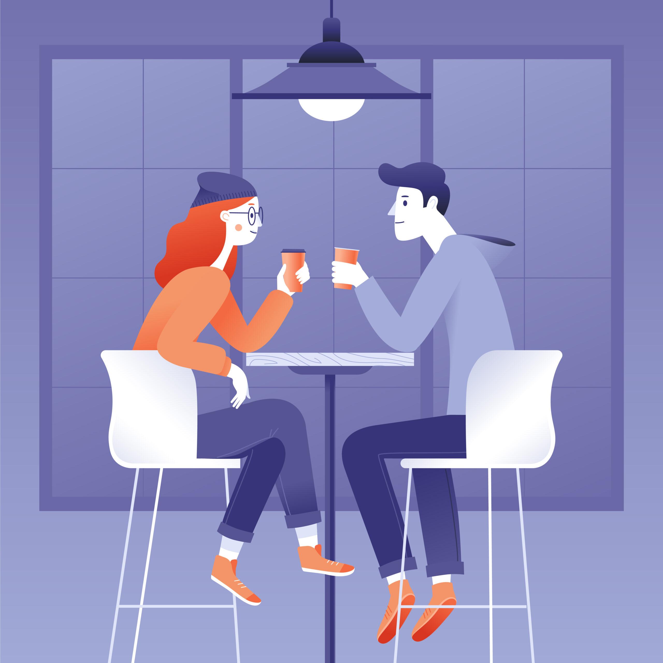 1:お互いの近況を話し合うご飯会