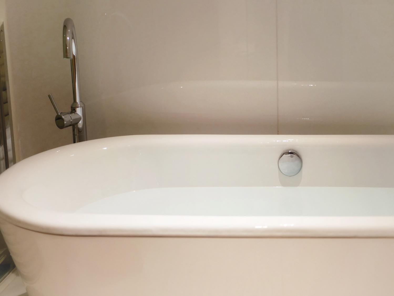 お湯の温度は33〜34℃