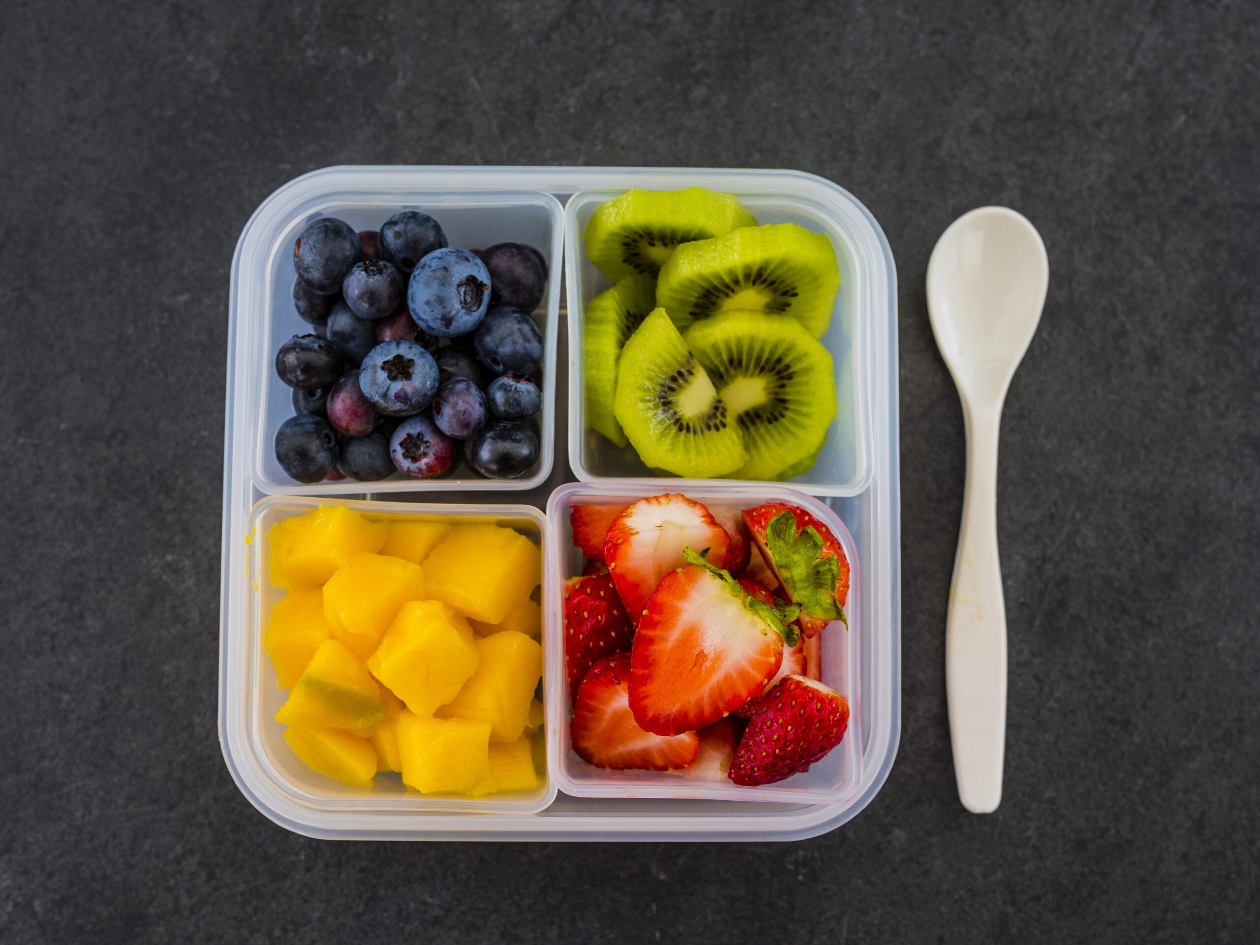 フルーツでハッピーと栄養をチャージ