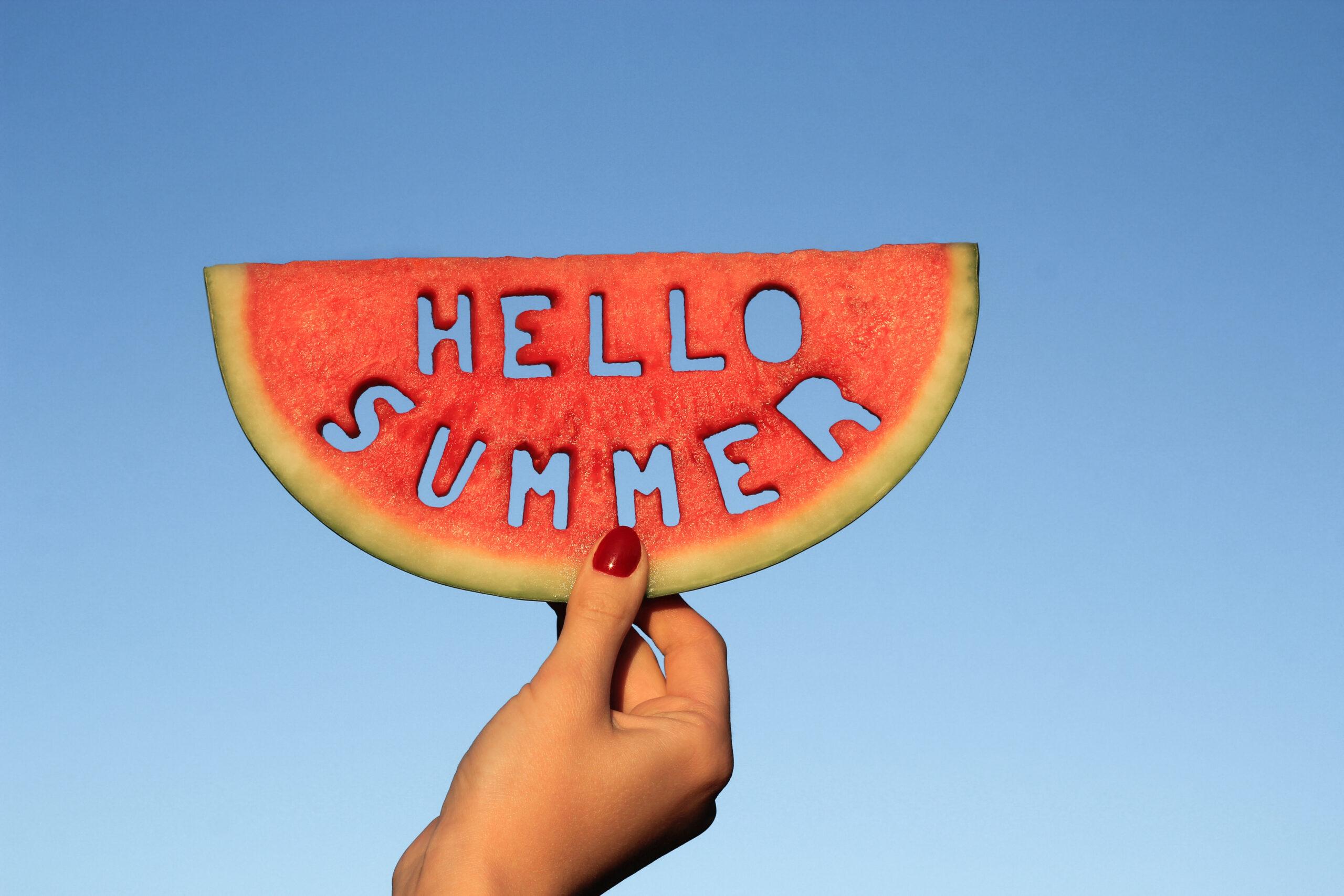 夏を乗り切る準備は万端ですっ