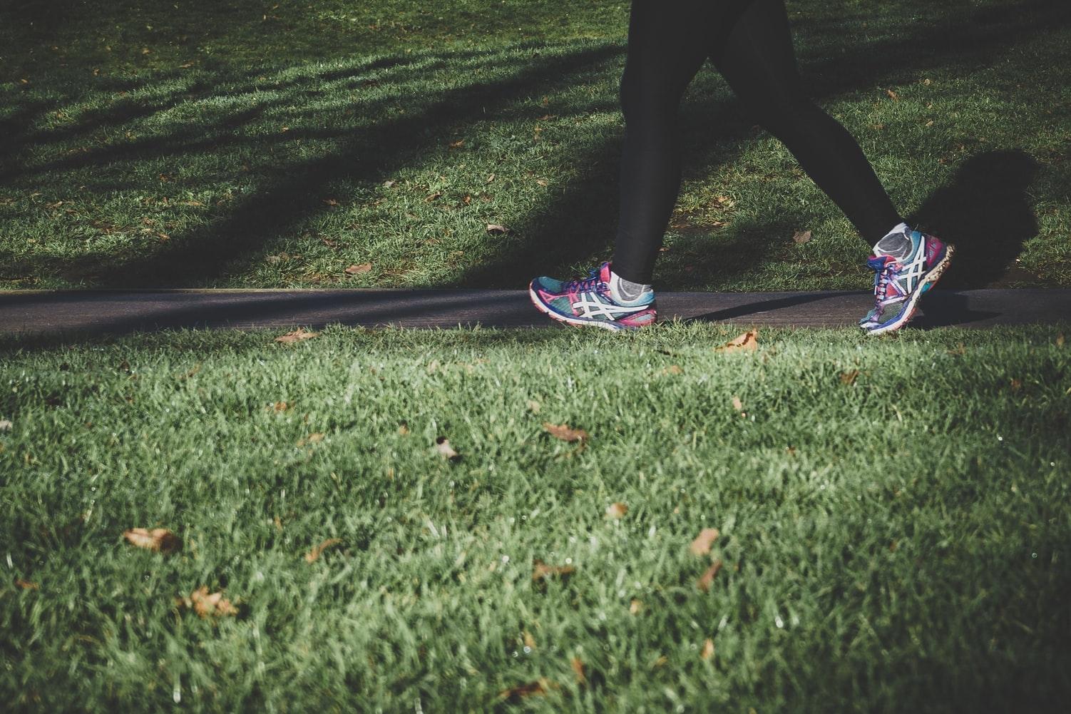 日中に運動する