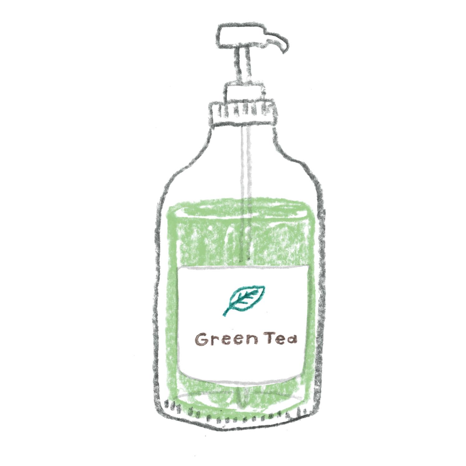B:緑茶の香り